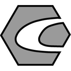 6IN CORINOX Machinists File Half Round